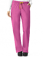'Rockwall' Women's Pull on Straight Leg Pant