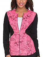 Zip Front Print Jacket