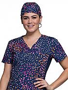 Unisex Print Scrub Hat