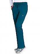 'Olivia' 6-Pocket Double Cargo Mid-Rise Pant