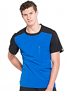 Men's Colorblock Crew Neck Top