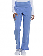 Natural Rise Tapered Leg Pull-On Pant