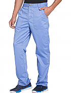 Men's Drawstring Zip Fly Pant