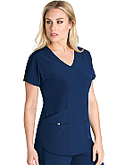 Surplice 4-Pocket Scrub Top