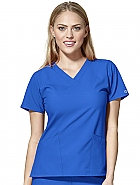 Women's Basic V-Neck Top
