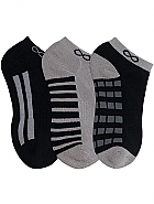 3-pair pack of No Show Socks
