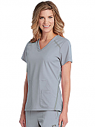 'Elevate' 3-Pocket Crossover V-Neck Top