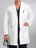 Med Couture Men's Twill Lab Coat