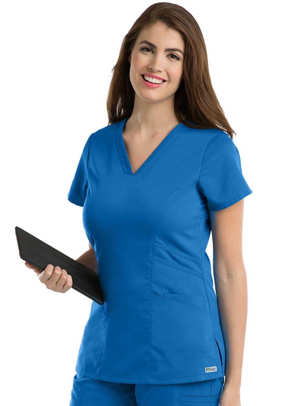 18b84e441bd Grey's Anatomy' Marquis 3-Pocket V-Neck - Classic - Grey's Anatomy ...