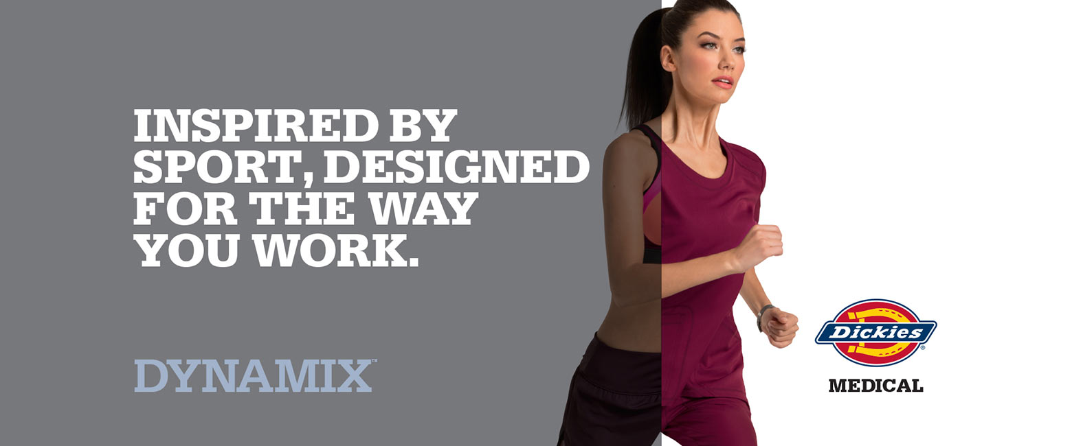 Dickies Dynamix - Inspired by sport, designed for the way you work.